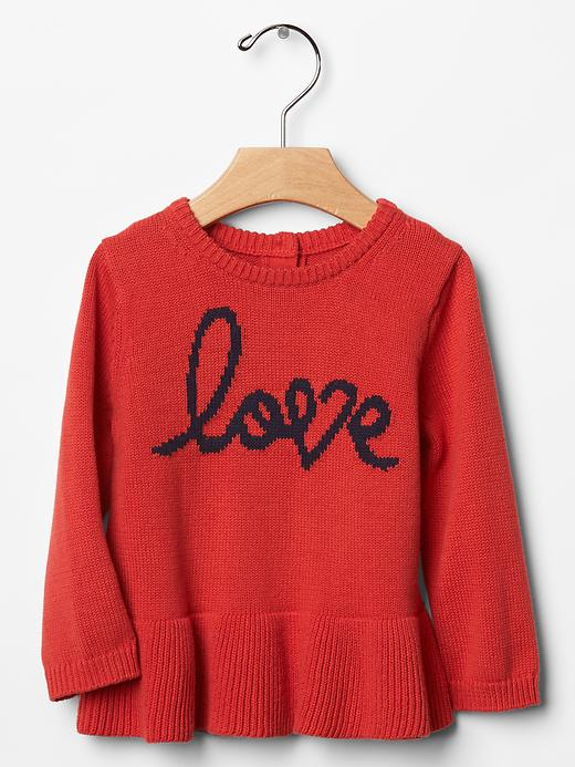 How adorable is this sweater from Baby Gap?! Will very stylish to pair with some fun leggings (: