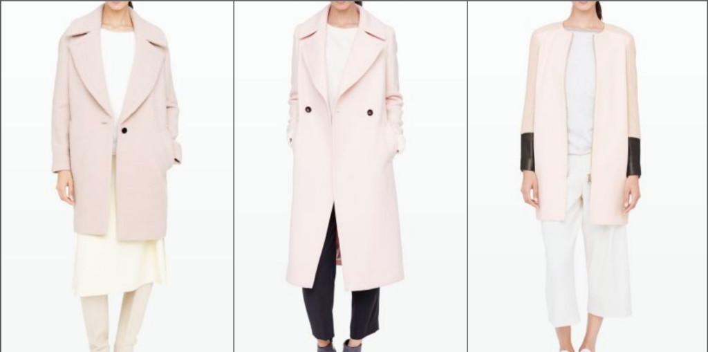 These Club Monaco pink jackets are just perfect for any fashionista.