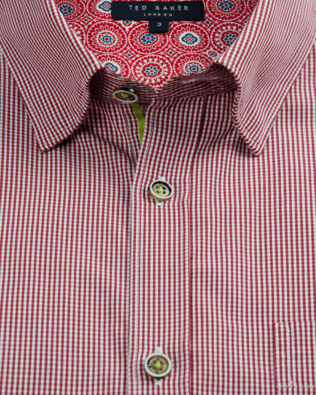 This shirt from Ted Baker is a fabulous item for any mans wardrobe.